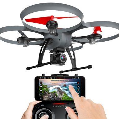 Kolibri Hellfire HD Wide-Angle Camera Drone with FPV App Video Stream
