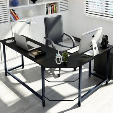 L-Shaped Desk Corner Computer Desk