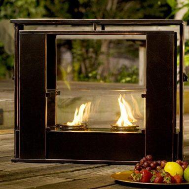 Indoor/ Outdoor Portable Fireplace