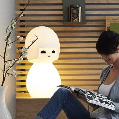 LED Dimmable Kokeshi Japanise Doll Lamp
