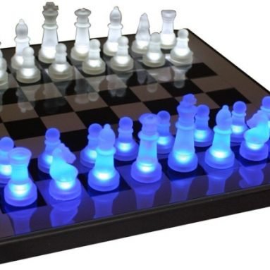 LED Glow Chess Set