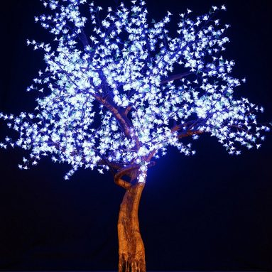 LED Light Cherry Artificial Tree
