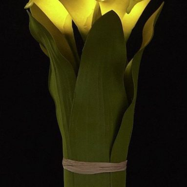 LED Lighted Artificial Flower Calla
