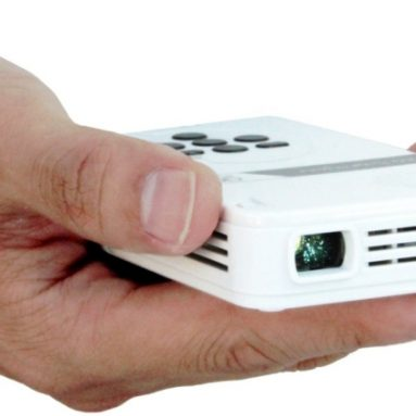 LED Pico Projector with 80 Minute Battery Life