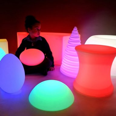 LED Rechargeable Light Up Furniture