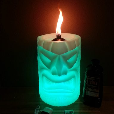 LED Table Top Tiki Torch