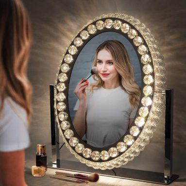 LED Vanity Mirror with Dimmable Lights