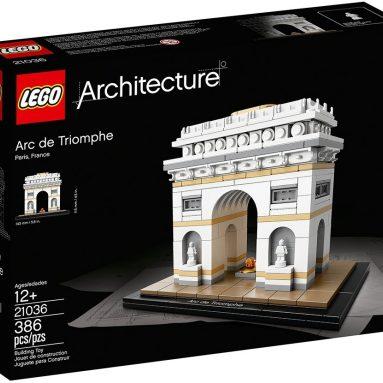 LEGO Architecture Arc De Triomphe Building Kit