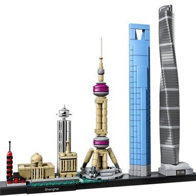 LEGO Architecture Shanghai Building Kit