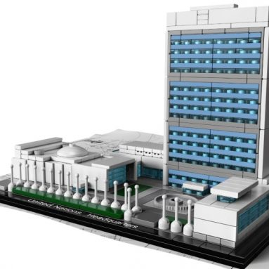 LEGO Architecture United Nations Headquarters