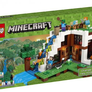 LEGO Minecraft The Waterfall Base 21134 Building Kit