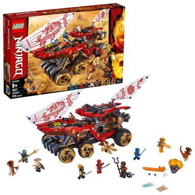 LEGO Ninjago Land Bounty Toy Truck Building Set