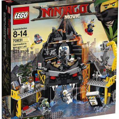 LEGO Ninjago Movie Garmadon's Volcano Lair