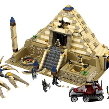 LEGO Pharaoh's Quest Scorpion Pyramid