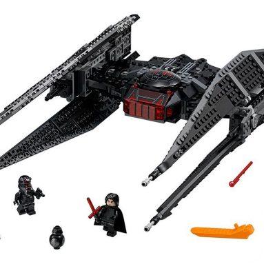 LEGO Star Wars Episode VIII Kylo Ren's Tie Fighter Building Kit