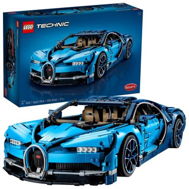 LEGO Technic Bugatti Chiron Race Car Building Kit and Engineering Toy