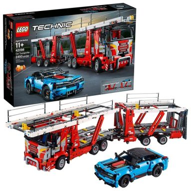 LEGO Technic Car Transporter Toy Truck and Trailer Building Set
