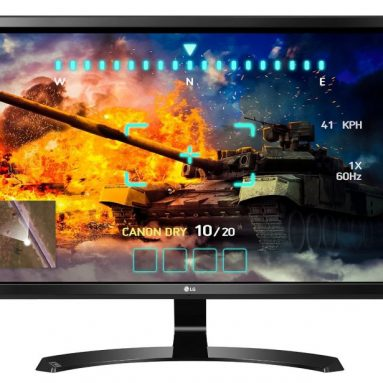 LG 27-Inch 4K UHD IPS Monitor with FreeSync