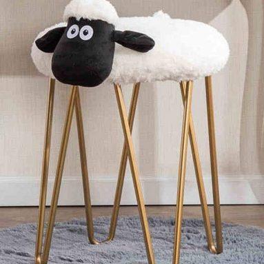 Lamb Dress Stool