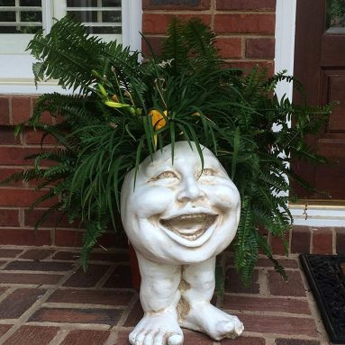 Laughing Aunt Minnie Planter