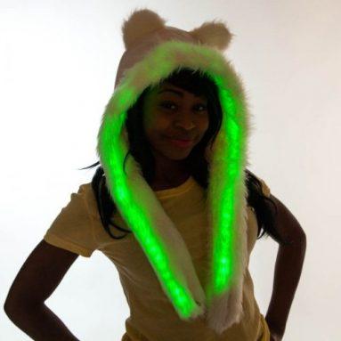 Led Snood Furry Hat