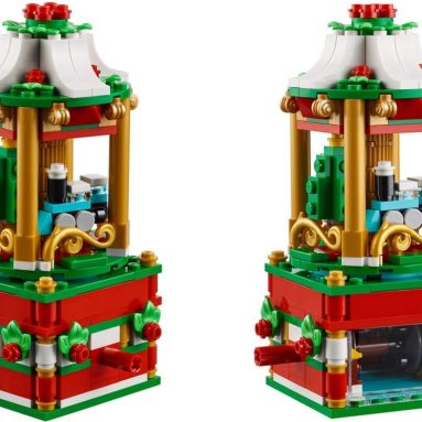 Lego Christmas Carousel 2018 Limited Edition Set
