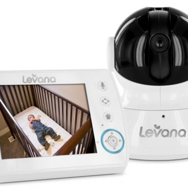 Levana Astra 3.5″ PTZ Digital Baby Video Monitor