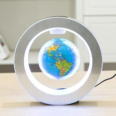 Levitation Floating Globe 4inch Rotating Magnetic Mysteriously Suspended In Air
