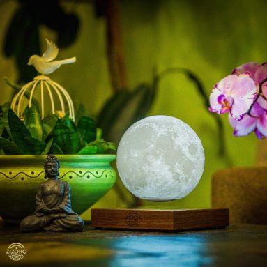 Levitation Floating LED Touch Globe Lamp