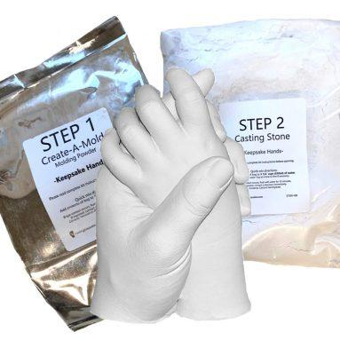 Life Casting -Refill Powders – for Luna Bean Keepsake Hands Plaster Statue Kit