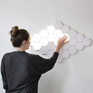 Light LED Modular Touch Sensitive Light Hexagon Wall