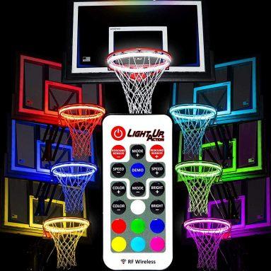 Light Up Action Basketball Net 2.0