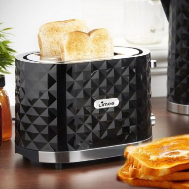 Limee 2 Slice Toaster Cool Touch