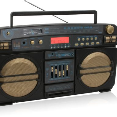 Limited Edition Portable Wireless Bluetooth Ghetto Blaster Boombox