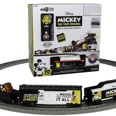 Lionel Mickey Celebration LionChief Train Set with Bluetooth