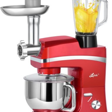 Litchi Stand Mixer 6-Speed Tilt-Head Food Stand Mixer