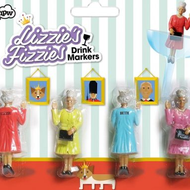 Lizzies' Fizzies Queen Elizabeth Drink Marker