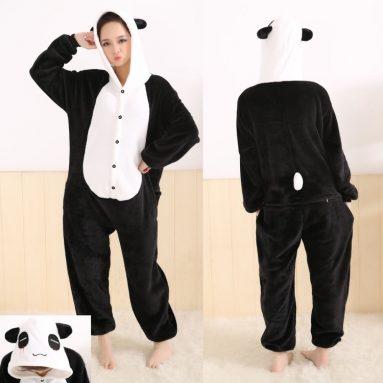 Lovely Coral Fleece Pajamas Cosplay Costume Unisex Sleepwear