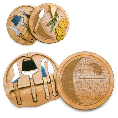 Lucas Star Wars/Death Star Circo Cheese Set with Cheese Tools