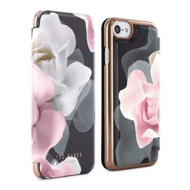 Luxury Case  Cover with Built-In Interior Mirror for iPhone 7
