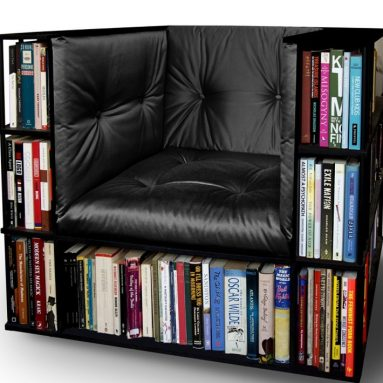 Luxury Library Bookcase Chair