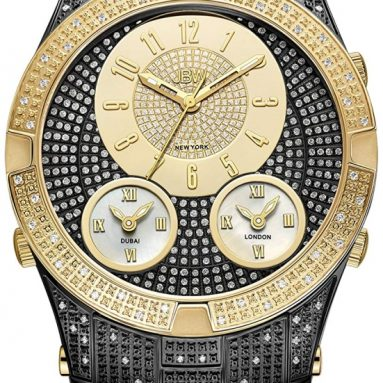 Luxury Men's Jet Setter III 1.18 Carat Diamond Wrist Watch