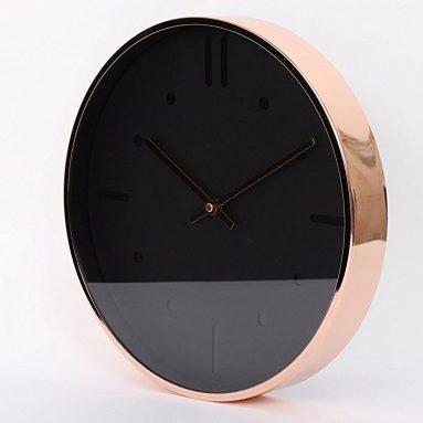 "Luxury Modern 12"" Silent Non-Ticking Wall Clock"