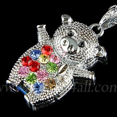 Jewel Piggy Necklace USB Flash Drive