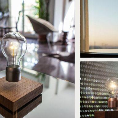 Magic Floating Levitating LED Light Bulb Lamp