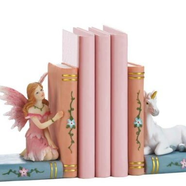 Magical Fairy and Unicorn Friends Storybook Bookends Children Room