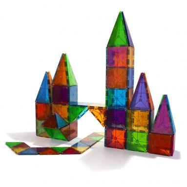 Magna-Tiles 100-Piece Clear Colors Set