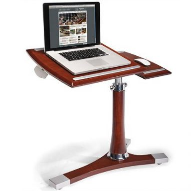 Mahogany Executive Laptop Caddy