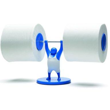 Man Toilet Paper Tissue Roll Holder