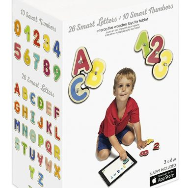 Marbotic Bundle Smart Letters + Smart Numbers – Connected Wooden Toys for Tablets Connected Toys
